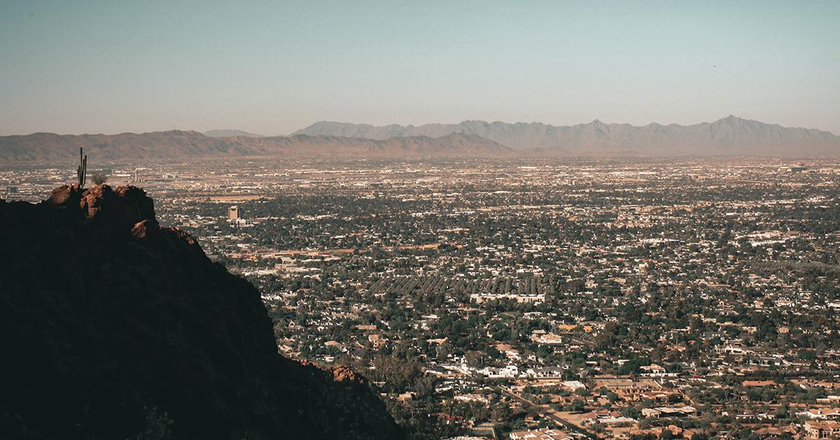 Camelback Mountain Hike in Scottsdale AZ