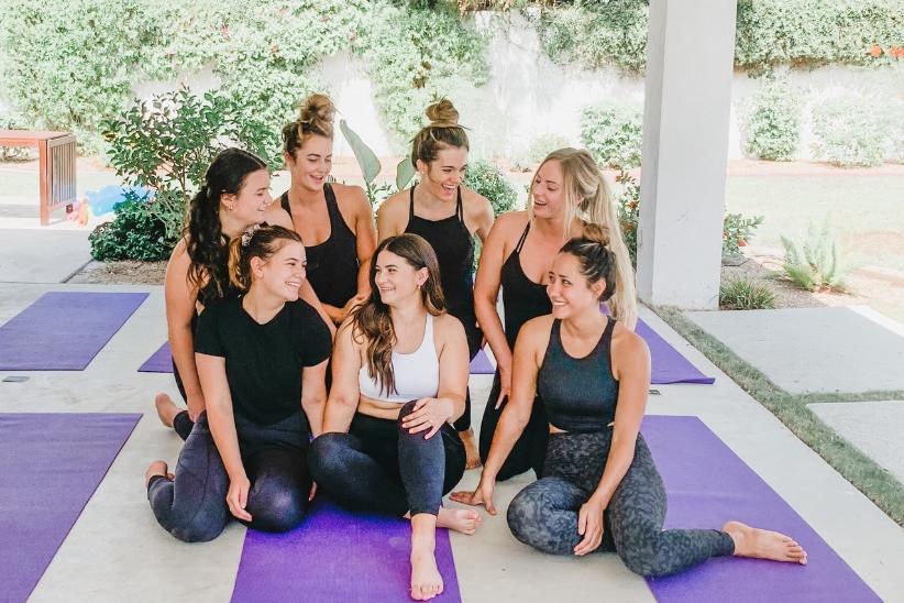 Balenced Bachelorette: Yoga in Scottsdale