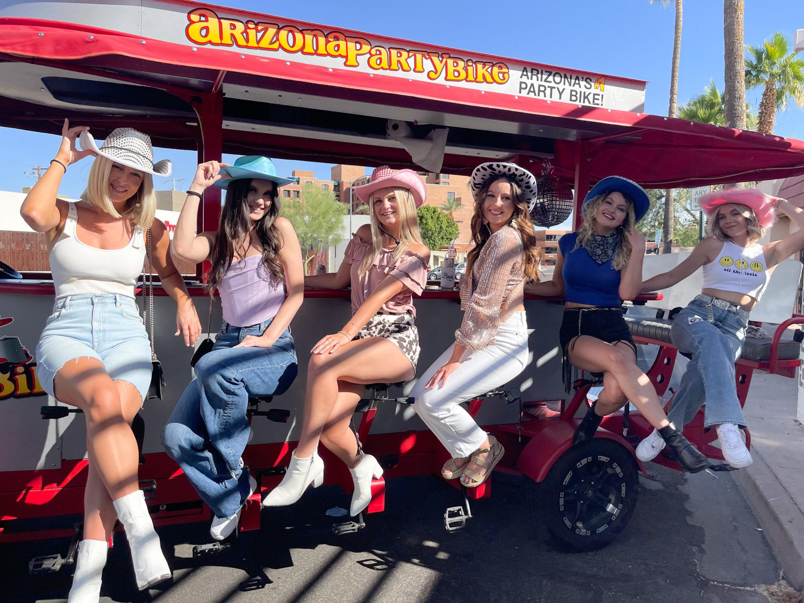 Scottsdale Bachelorette Party on the Arizona Party Bike