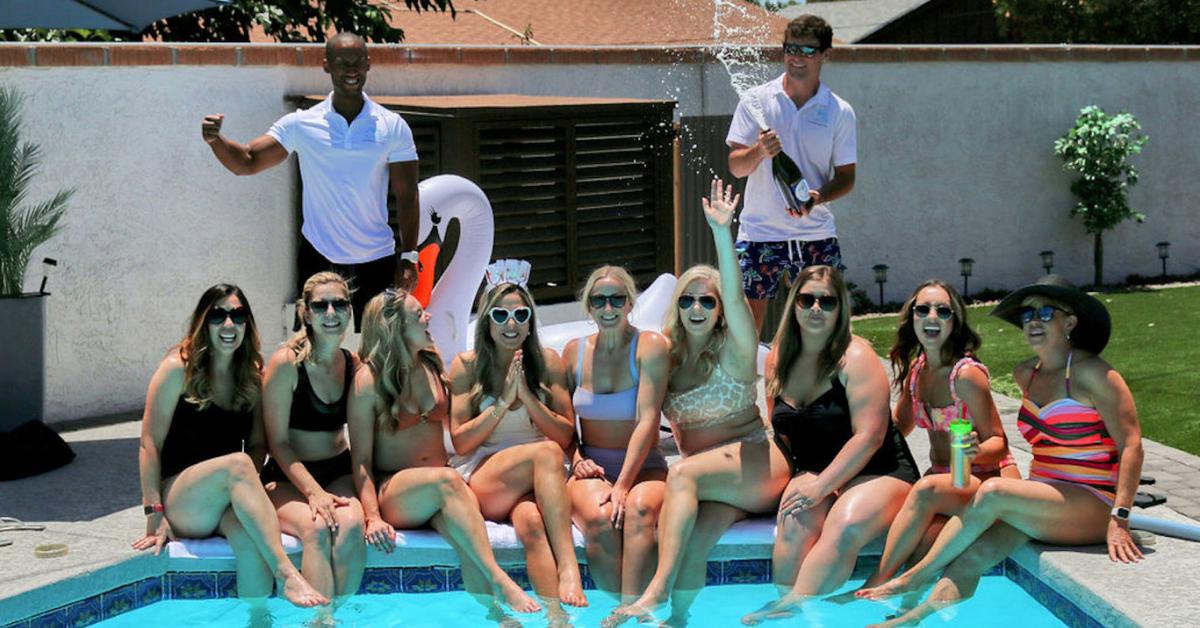 Cabana Boys Backyard Party