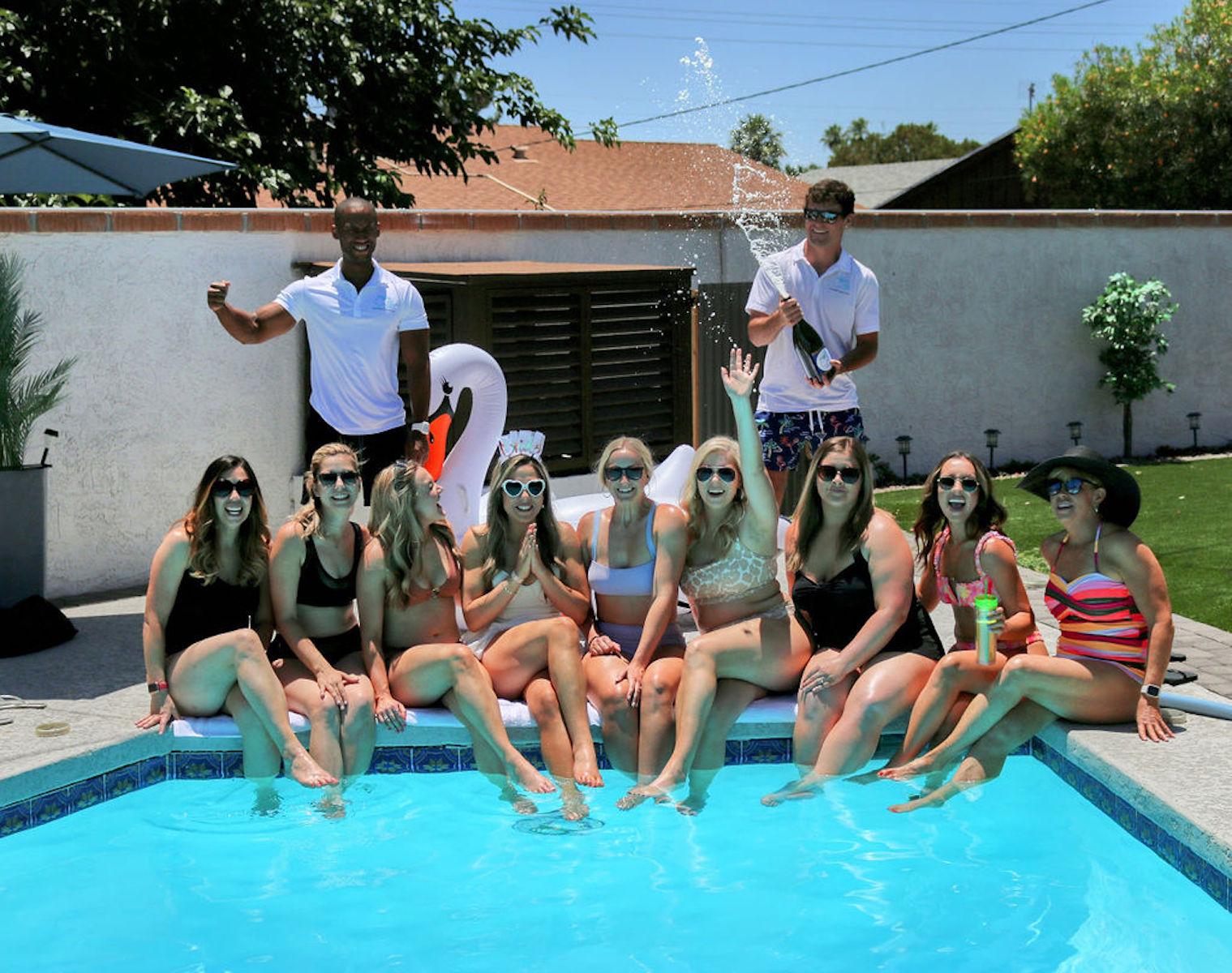Scottsdale Bachelorette party service: Cabana Boys