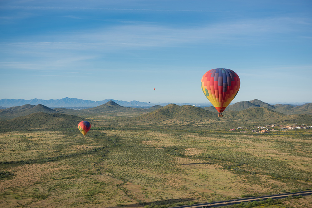 Hot Air Expeditions for Adventurous Bachelorette Party