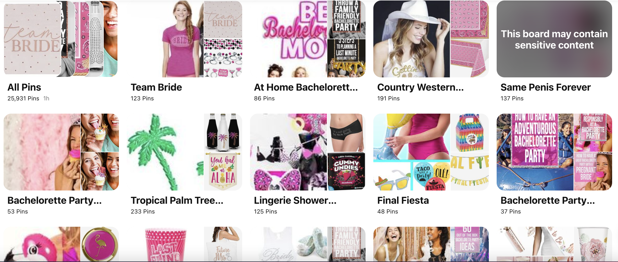 Bachelorette Party Themes on Pinterest: House of Bach