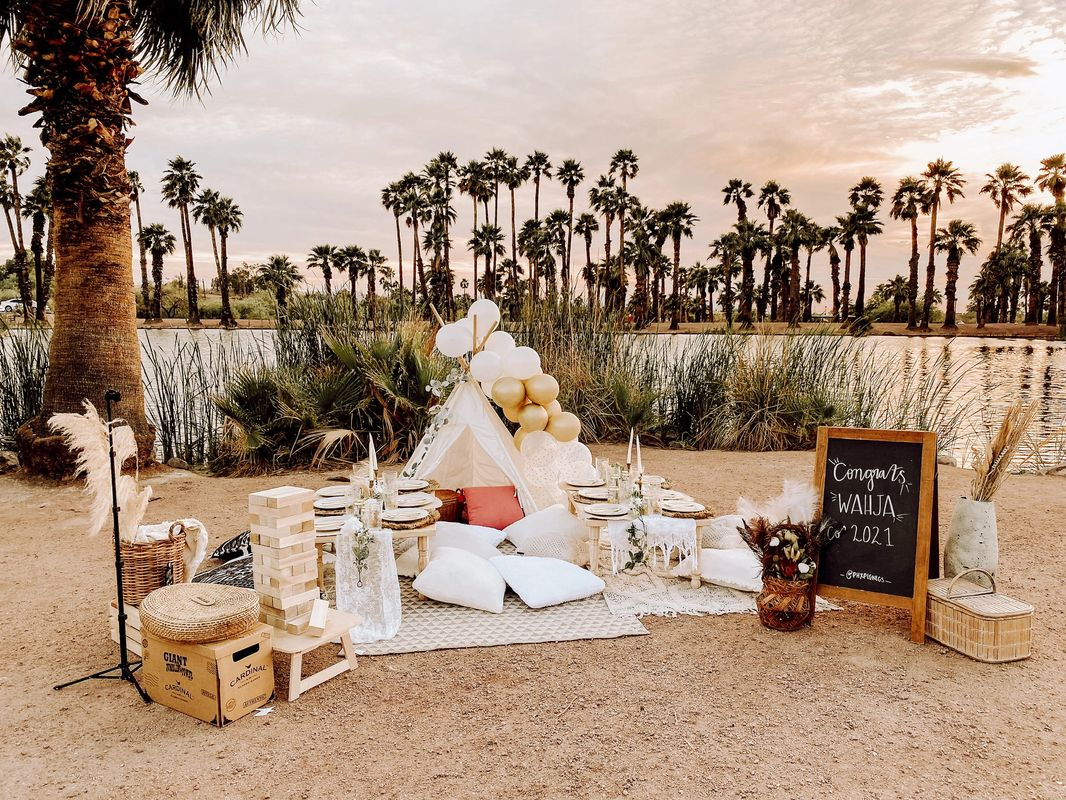 Scottsdale Arizona Bachelorette Party Picnic